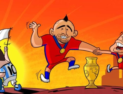 Chile wins, Messi quits
