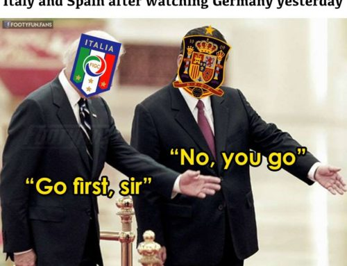 Italy or Spain? Germany is waiting