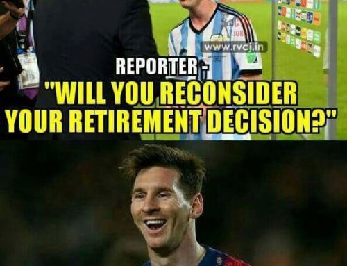 Messi and Afridi