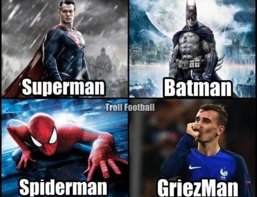 Not Superman, It's Griezmann !!