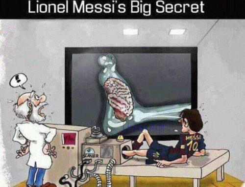 Lionel Messi's BIG secret