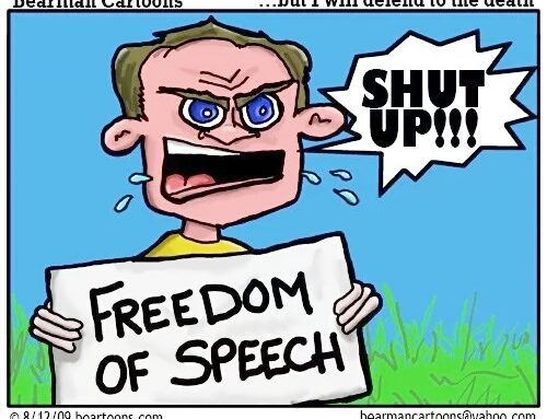 Freedom of Speech !