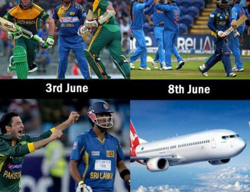 Sri Lanka's schedule for Champions Trophy #CT17