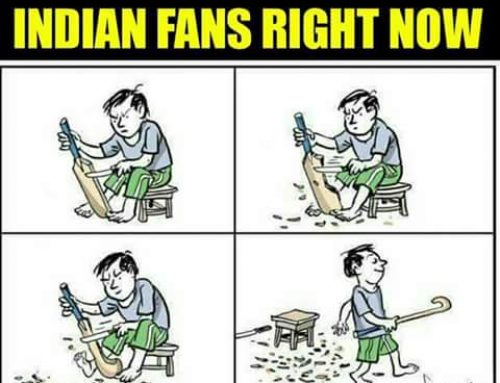 Indian fans after #CT17Final #INDvPAK