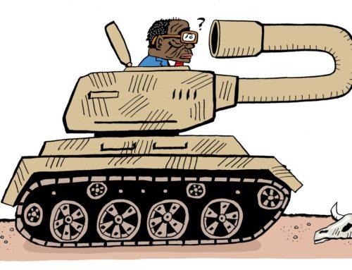 Mugabe dead end