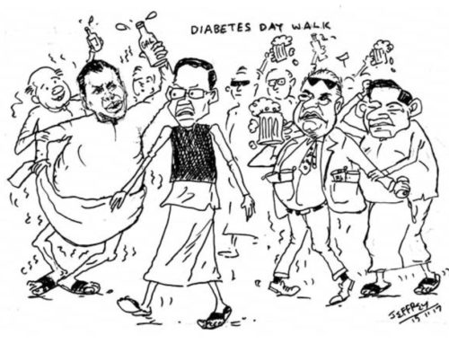 #DiabetesDay walk