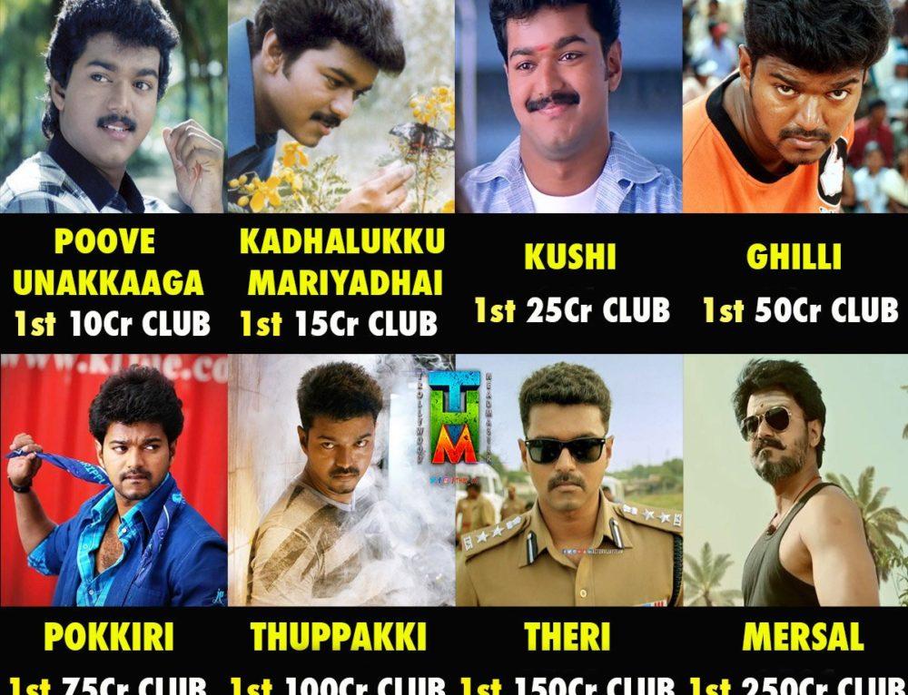 கோடிகள் – Crore Clubs – விஜய் ரசிகர்களின் கொண்டாட்டம் ??!!