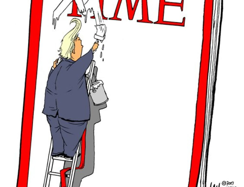 Trump and TIME