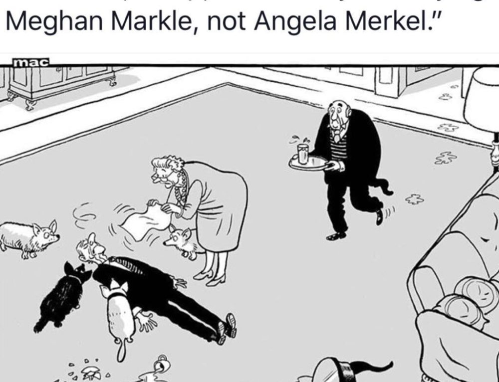 Meghan Markle..Not Merkel