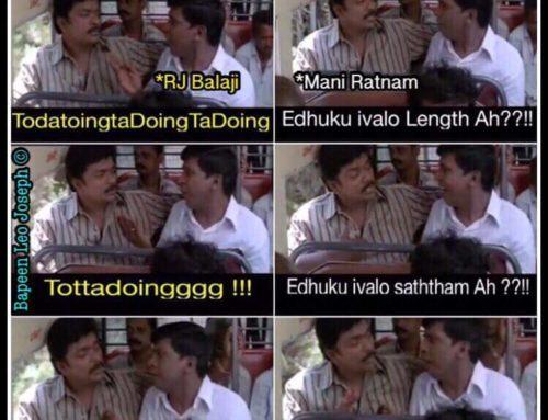 RJ Balaji in Maniratnam Movie