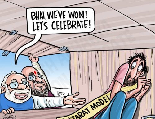 Modi retains Gujarat!