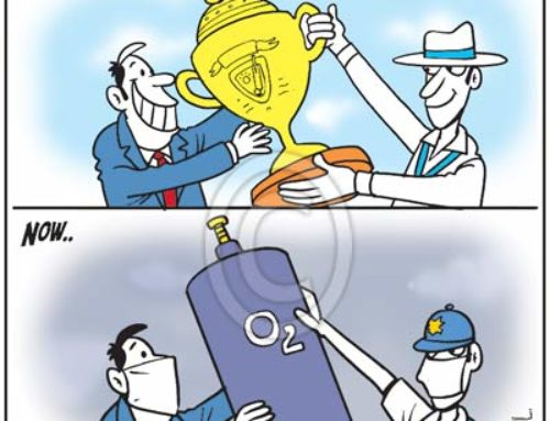 Delhi Pollution vs #INDvSL