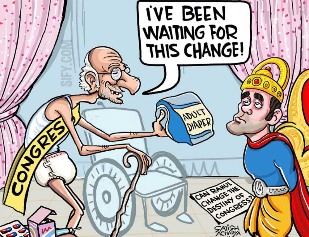 Rahul G and Change in Congress