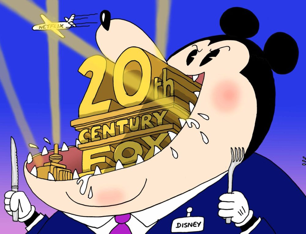 Disney buys 20th century Fox