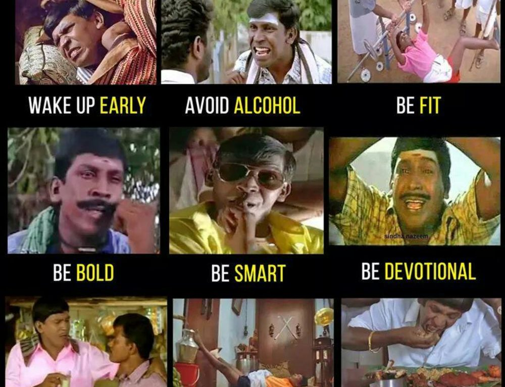 New Year 2018 Resolution – Vadivelu for Life