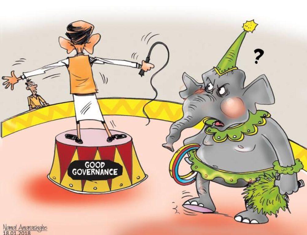 Yahapalana Circus show