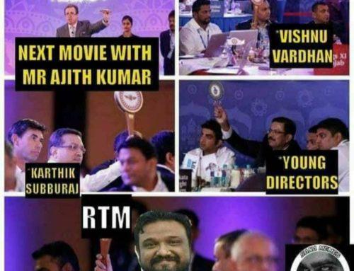 தல அஜித்துக்கே RTM ??!!