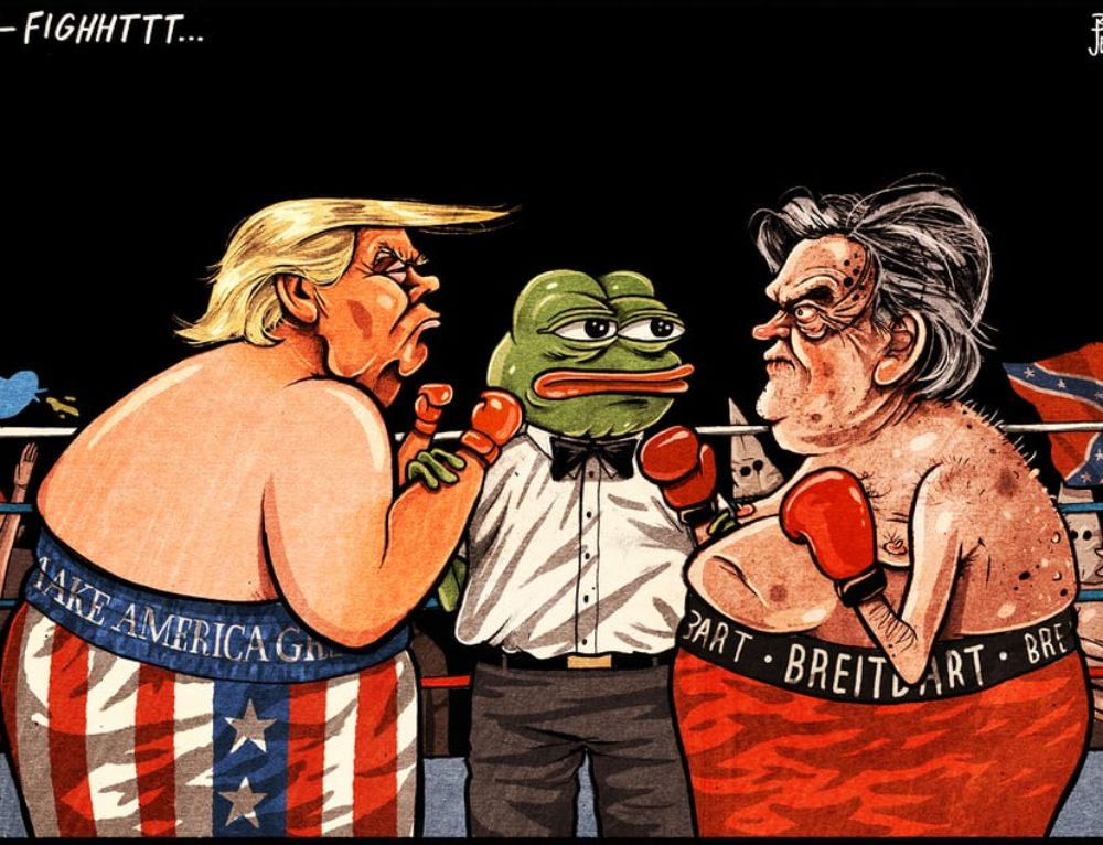 Trump v Bannon