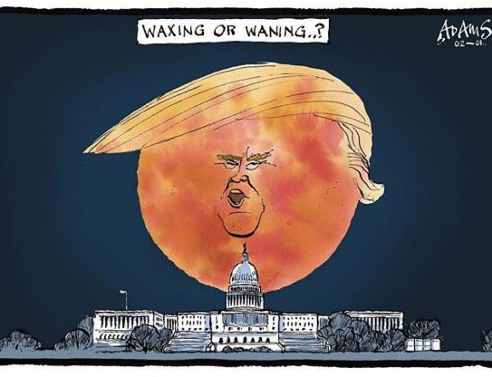 Donald Trump and the Blue moon