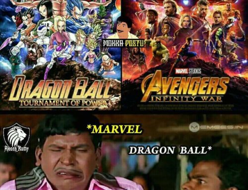 Avengers !! And Dragon Ball !!