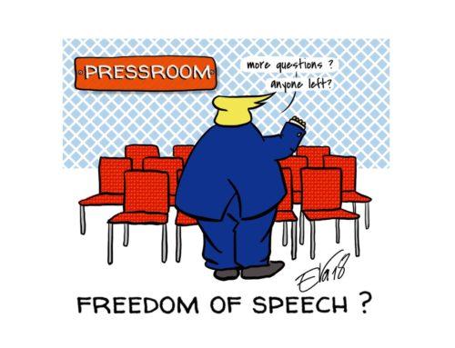 Freedom of speech ?