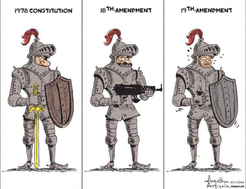 1978 to 19th Amendment #SriLanka