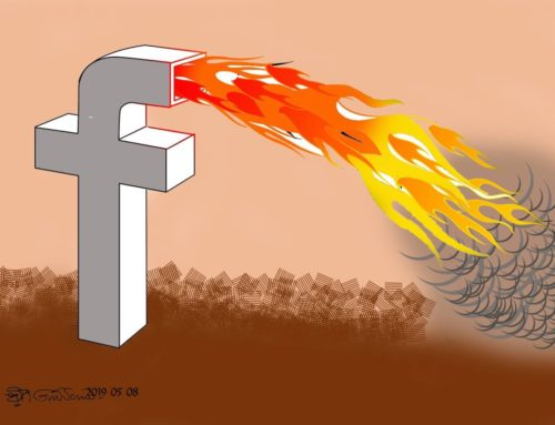 Firebook !! #Facebook